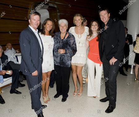 Steve Waugh, Layne Beachley, Dawn Fraser, with Stephanie Gilmore and Glen Mcgrath