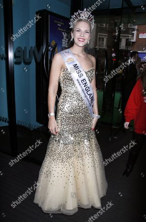 Stock Photo of Miss England, Jessica Linley