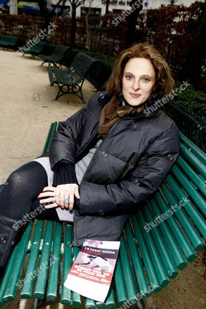 Editorial photo of Thriller writer, Claire Favan, Paris, France - 02 Feb 2011