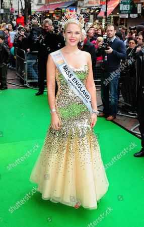 Stock Image of Miss England, Jessica Linley