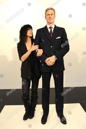 Artist Jennifer Rubell with 'Prince William'