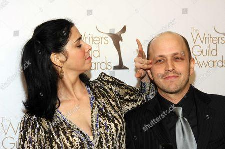 Sarah Silverman and Dan Sterling