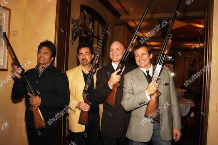 Erik Estrada, Joe Mantegna, Patrick Kilpatrick and Tim Abell