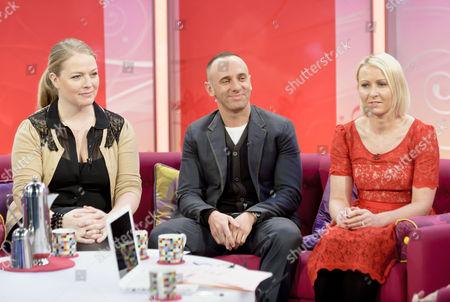 Sarah Watkinson, Mark Heyes and Ali Hall