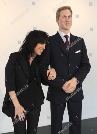 Stock Photo of Artist Jennifer Rubell with 'Prince William'