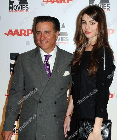 Andy Garcia and daughter Daniella Garcia Lorido