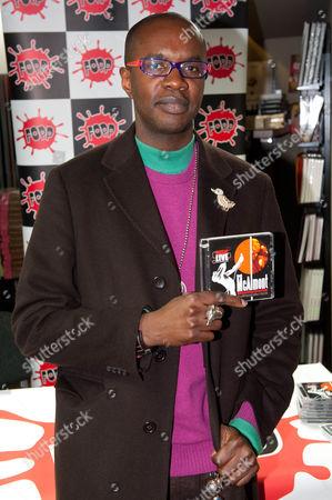 Editorial photo of David McAlmont CD signing at Fopp, London, Britain - 08 Feb 2011