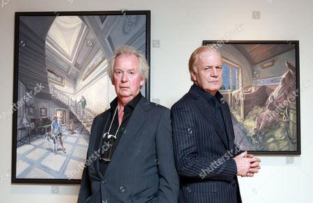 Editorial image of Stephen Evans and John Wonnacott, London, Britain - 2011