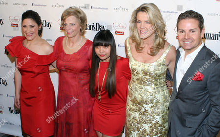 Editorial photo of 8th Annual Woman's Day Red Dress Awards, New York, America - 8 Feb 2011