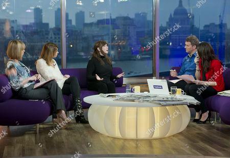 Editorial image of 'Daybreak' TV Programme, London, Britain. - 10 Feb 2011