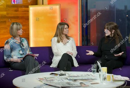 Stock Image of Kate Garraway, Siobahn Freegard and Dr Miriam Stoppard