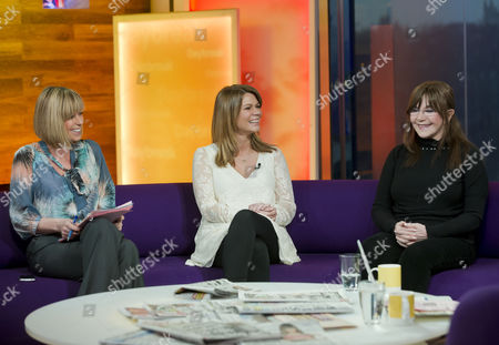 Stock Picture of Kate Garraway, Siobahn Freegard and Dr Miriam Stoppard