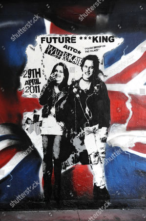 Kate Middleton and Prince William as Sid and Nancy