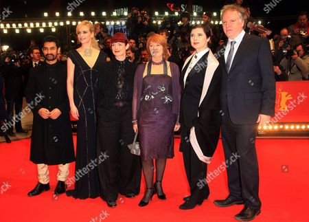 Jury Members: Aamir Khan, Nina Hoss, Sandy Powell, Jan Chapman, Isabella Rossellini and Guy Maddin