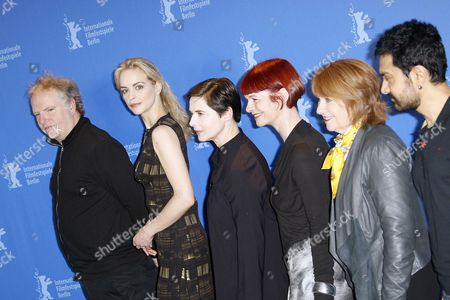 Guy Maddin, Nina Hoss, Isabella Rossellini, Sandy Powell, Jan Chapman and Aamir Khan