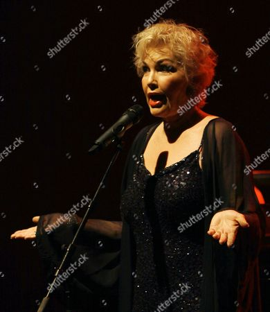 Editorial picture of Buddy Greco in concert at the Millfield Theatre, London, Britain - 10 Feb 2011