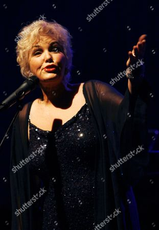 Editorial photo of Buddy Greco in concert at the Millfield Theatre, London, Britain - 10 Feb 2011