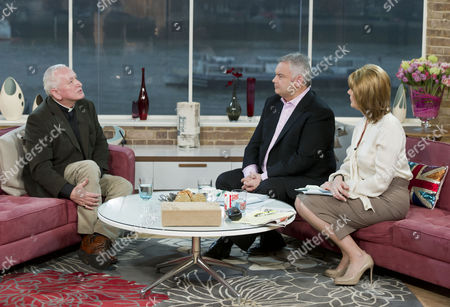 Father Ray Andrews with Eamonn Holmes and Ruth Langsford.