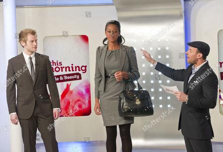 Stock Photo of Chris Bates, Joanna Riley and Jason Gardiner