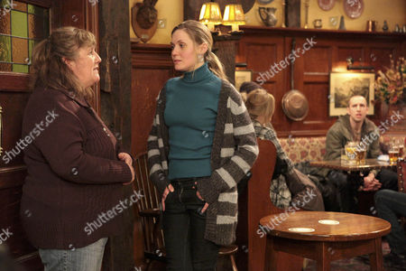 Sam Dingle is gutted when he overhears Olena Petrovich [Carolin Stoltz] telling Lisa Dingle [Lisa Cox] that she doesn't want to move back in.