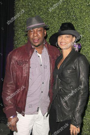 Bobby Brown and Alicia Etheridge