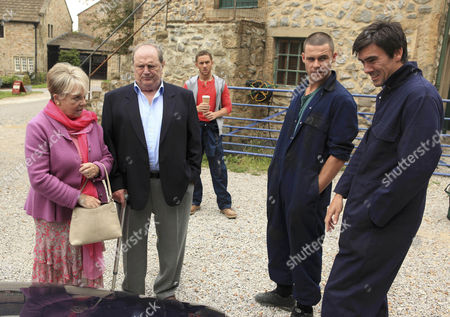 Jackson [Marc Silcock] is angry and Cain [Jeff Hordley] is delighted when Aaron [Danny Miller] sells Pearl [Meg Johnson] the dodgy car.