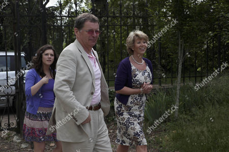 Victoria Sugden [Isobel Hodgins], Diane Sugden [Elizabeth Estensen] arrive at Charlie's Chateau.  Charlie  [George Costigan] promises them a look around inside next time as it's not safe at the moment.