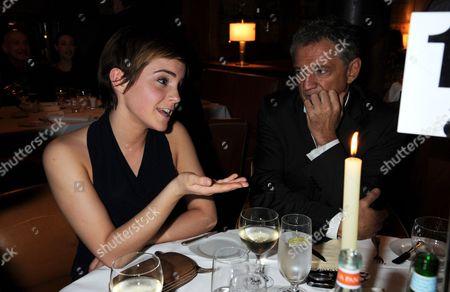 Emma Watson and Carlos Almada