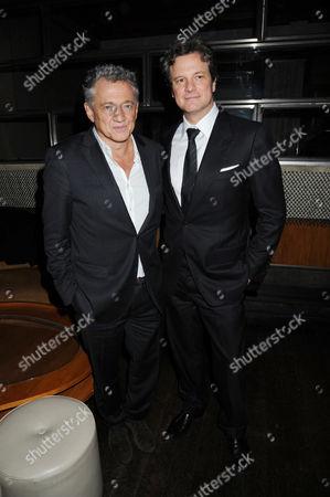 Carlos Almada and Colin Firth