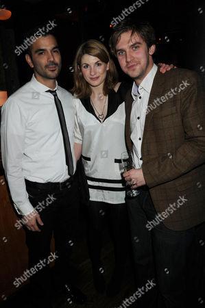 Christian Contavas, Jodie Whittaker and Dan Stephens