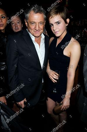 Carlos Almada and Emma Watson