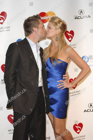 Keith Zubulevich and Nancy O'Dell