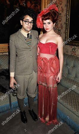 Stock Image of Josh Weller and Paloma Faith