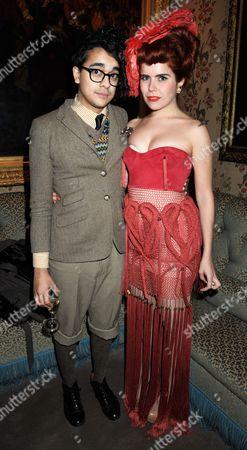 Josh Weller and Paloma Faith