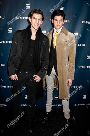 Nick Hissom and Peter Brant II