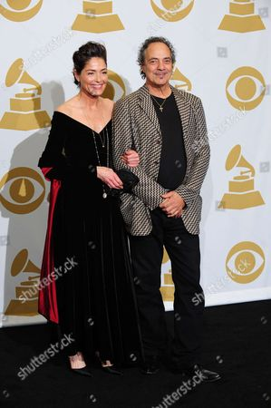 Stock Photo of Teri Keating and Johnny Nicholas
