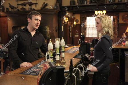 Declan [Jason Merrells] and Maisie Wylde [Alice Coulthard].