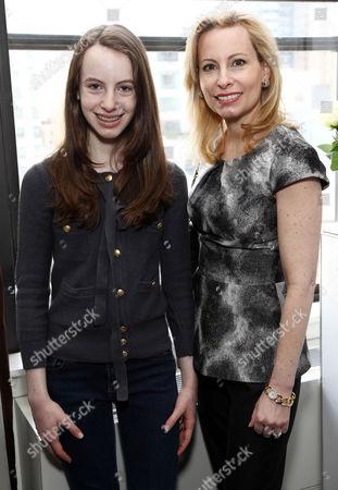 Gillian Miniter with daughter Serena