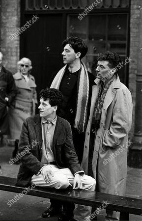 Editorial photo of The Blue Nile, London, Britain -  Mar 1984