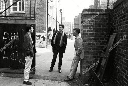 Stock Photo of The Blue Nile - Robert Bell, Paul Buchannan, Paul Moore