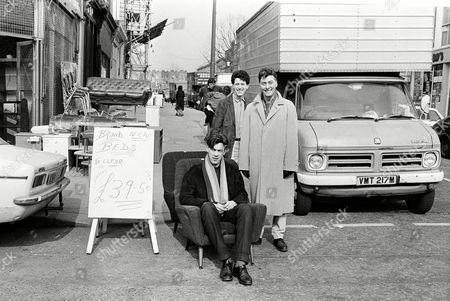Stock Picture of The Blue Nile - Robert Bell, Paul Buchannan, Paul Moore