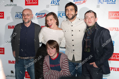 Editorial photo of 'Vykrutasy' film photocall, Moscow, Russia - 13 Feb 2011