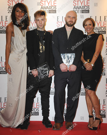Editorial image of Elle Style Awards, London, Britain - 14 Feb 2011
