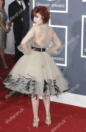 Editorial image of 53rd Annual Grammy Awards, Arrivals, Los Angeles, America - 13 Feb 2011