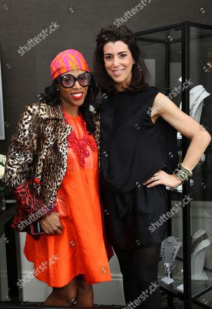 Editorial image of Lia Sophia Lounge, Mercedes-Benz Fashion Week Fall 2011, New York, America - 14 Feb 2011