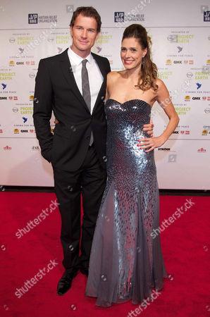 Jens Lehmann and wife Conny Lehmann