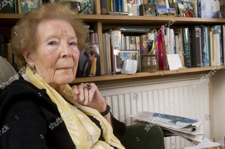 Editorial image of Nina Bawden at her home in Islington, London, Britain - 02 Feb 2011