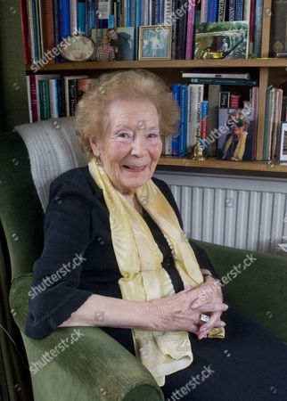 Editorial picture of Nina Bawden at her home in Islington, London, Britain - 02 Feb 2011