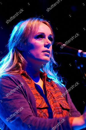 Editorial picture of Isobel Campbell and Mark Lanegan in concert at Shepherds Bush Empire, London, Britain - 15 Feb 2011