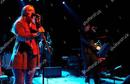 Editorial photo of Isobel Campbell and Mark Lanegan in concert at Shepherds Bush Empire, London, Britain - 15 Feb 2011